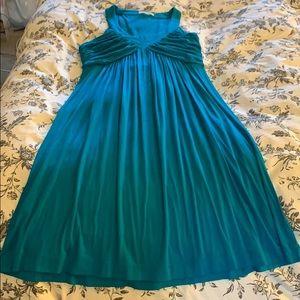 Emerald Calvin Klein Dress